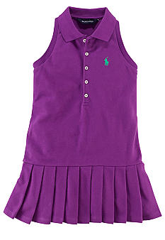 Ralph Lauren Childrenswear Sleeveless Polo Dress Girls 4-6X