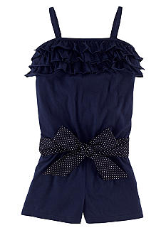 Ralph Lauren Childrenswear Ruffle Romper Girls 4-6X