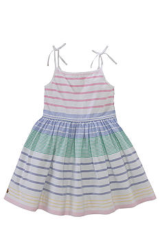 Ralph Lauren Childrenswear Striped Tie-Strap Dress Girls 4-6X