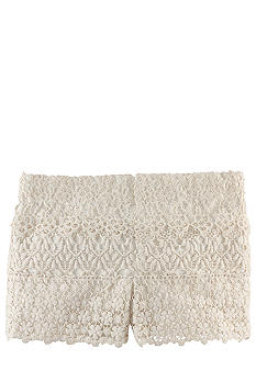 Ralph Lauren Childrenswear Crocheted-Lace Short Girls 4-6X