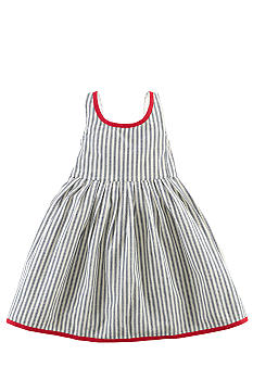 Ralph Lauren Childrenswear Indigo Stripe Girls 4-6X