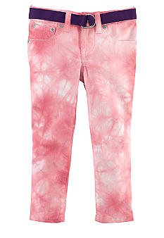 Ralph Lauren Childrenswear Watercolor Cropped Skinny Jeans Girls 4-6X