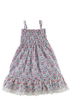 Ralph Lauren Childrenswear Floral Babydoll Dress Girls 4-6X