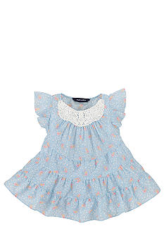 Ralph Lauren Childrenswear Tiered Floral Print Top Girls 4-6X
