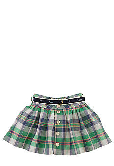 Ralph Lauren Childrenswear Preppy Plaid Skirt Girls 4-6X