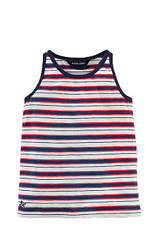 Ralph Lauren Childrenswear Nautical Stripe Tank Girls 4-6X