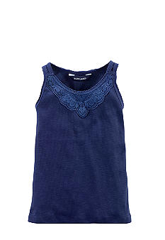 Ralph Lauren Childrenswear Rib-Knit Lace Tank Girls 4-6X