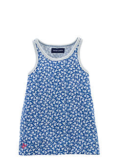 Ralph Lauren Childrenswear Floral Print Tank Girls 4-6X