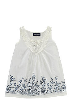 Ralph Lauren Childrenswear Stenciled Embroidered Top Girls 4-6X