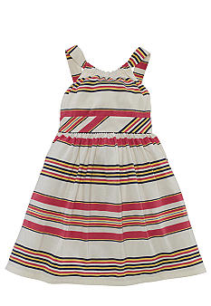 Ralph Lauren Childrenswear Retro Stripe Sundress Girls 4-6X