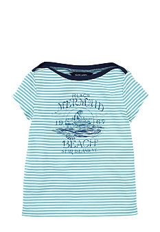 Ralph Lauren Childrenswear Nautical Stripe Tee Girls 4-6X