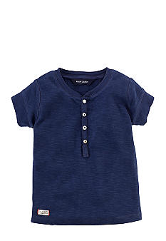 Ralph Lauren Childrenswear Button Henley Top Girls 4-6X