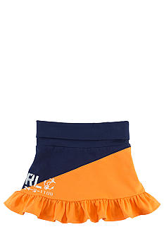 Ralph Lauren Childrenswear Graphic Diagonal Stripe Skirt Girls 4-6X