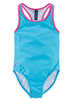 Ralph Lauren Childrenswear Racerback 1-piece Swimsuit Girls 4-6X