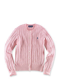 Ralph Lauren Childrenswear Cable Cardigan Girls 4-6X