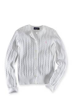 Ralph Lauren Childrenswear Cable Cardigan Girls 4-6X