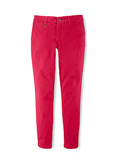 Ralph Lauren Childrenswear Cotton Chino Slim Fit Jeans Girls 4-6x