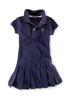 Ralph Lauren Childrenswear Preppy Polo Dress Girls 4-6x