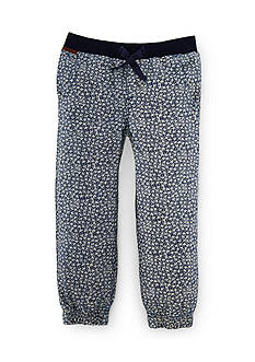 Ralph Lauren Childrenswear Floral Jogger Pant Girls 4-6x