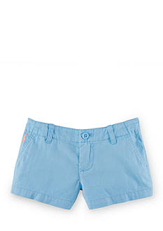 Ralph Lauren Childrenswear Cotton Chino Shorts Girls 4-6x