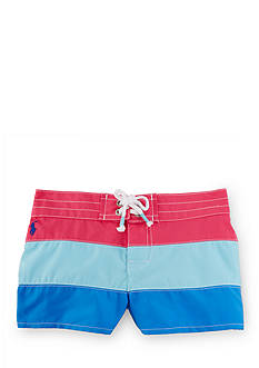 Ralph Lauren Childrenswear Color-Block Board Short Girls 4-6x