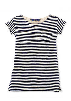 Ralph Lauren Childrenswear Stripe T-Shirt Dress Girls 4-6x