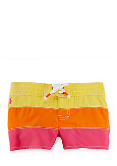 Ralph Lauren Childrenswear Stripe Board Short Girls 4-6x