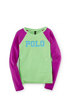 Ralph Lauren Childrenswear Rash Guard Top Girls 4-6x