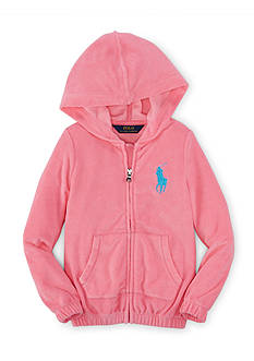 Ralph Lauren Childrenswear Zip Front Hoodie Girls 4-6x