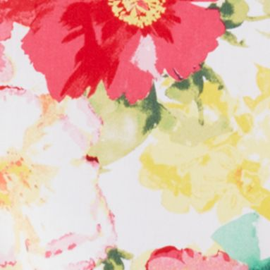 Ralph Lauren Girls: Pink Ralph Lauren Childrenswear 1 FLORAL DRESS-WVN PINK/WHITE MULTI