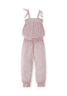 Ralph Lauren Childrenswear Floral Romper Girls 4-6x