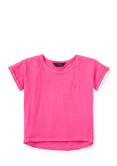 Ralph Lauren Childrenswear Roll-Cuff Tee Girls 4-6x