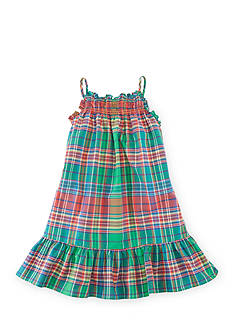 Ralph Lauren Childrenswear Plaid Sundress Girls 4-6x 1201626, 1201627