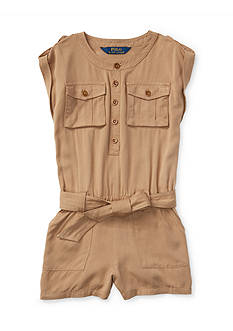 Ralph Lauren Childrenswear Cargo Romper Girls 4-6x