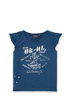 Ralph Lauren Childrenswear Graphic Tee Girls 4-6x