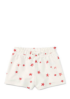 Ralph Lauren Childrenswear French Terry Star Shorts Girls 4-6x