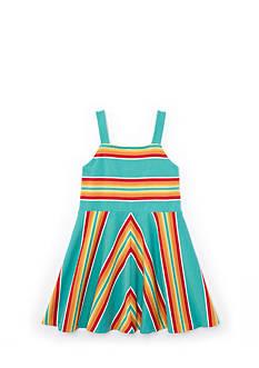 Ralph Lauren Childrenswear Stripe Dress Girls 4-6x