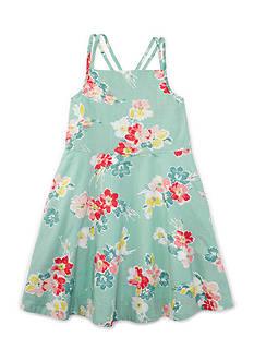 Ralph Lauren Childrenswear Floral Dress Girls 4-6x