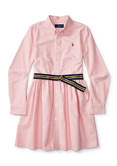 Ralph Lauren Childrenswear Oxford Dress Girls 4-6x