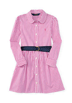 Ralph Lauren Childrenswear Bengal Stripe Dress Girls 4-6x