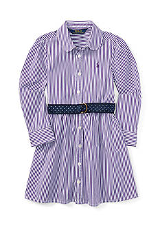 Ralph Lauren Childrenswear Bengal Stripe Dress - Girls 4-6x