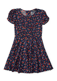 Ralph Lauren Childrenswear Floral Dress Girls 4-6x