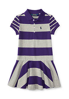 Ralph Lauren Childrenswear Stretch Mesh Mix and Match Dress Girls 4-6x