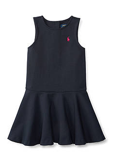 Ralph Lauren Childrenswear Ponte Pleated Dress Girls 4-6x