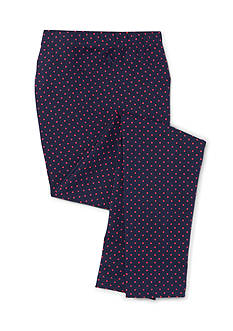 Ralph Lauren Childrenswear Jersey Polka Dot Leggings Girls 4-6x