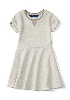 Ralph Lauren Childrenswear Terry Fleece Dress Girls 4-6x