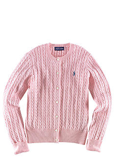 Ralph Lauren Childrenswear Long-Sleeved Cardigan Girls 7-16