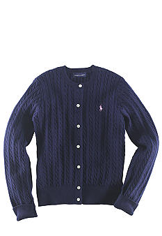 Ralph Lauren Childrenswear Long-Sleeved Cardigan - Girls 7-16