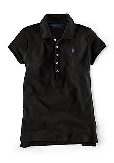 Ralph Lauren Childrenswear Short Sleeve Solid Polo Girls 7-16