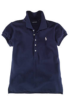 Ralph Lauren Childrenswear Stretch Mesh Polo Girls 7-16